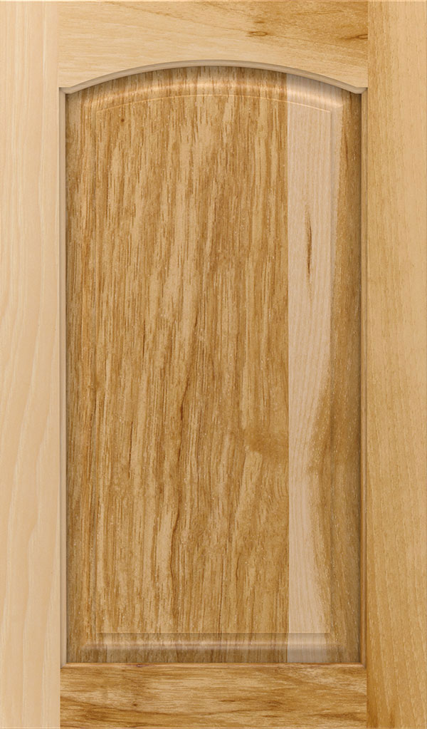 Natural Cabinet Finish On Hickory Decora Cabinetry