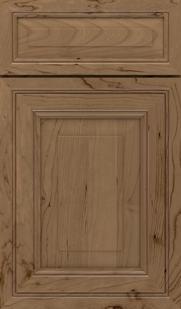 willshire_5pc_cherry_raised_panel_cabinet_door_gunny