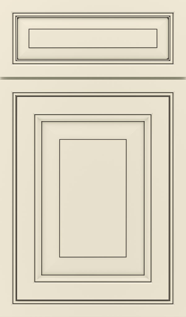Willshire 5 Piece Maple Raised Panel Cabinet Door in Chantille Espresso