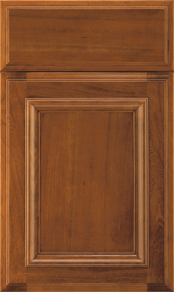 Yardley Cherry Raised Panel Cabinet Door in Suede