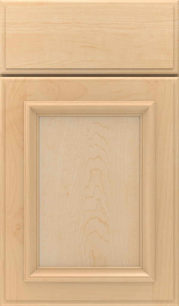 Yardley Maple Raised Panel Cabinet Door in Natural