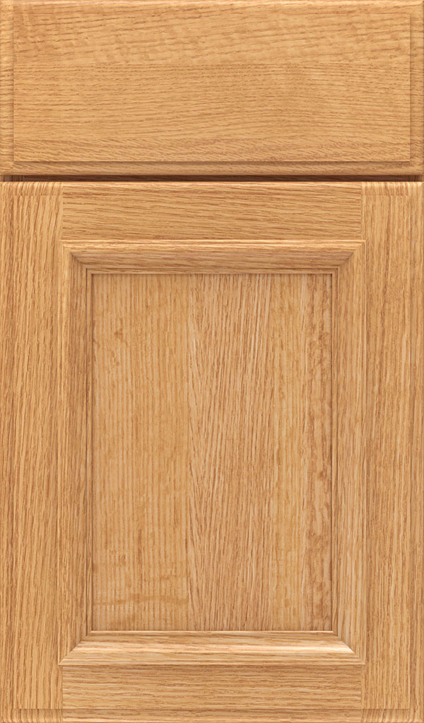 Yardley Quartersawn Oak Raised Panel Cabinet Door in Natural