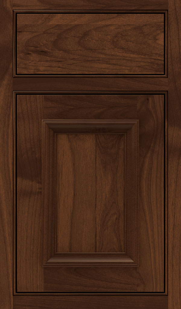 Yardley Alder Beaded Inset Cabinet Door in Sepia