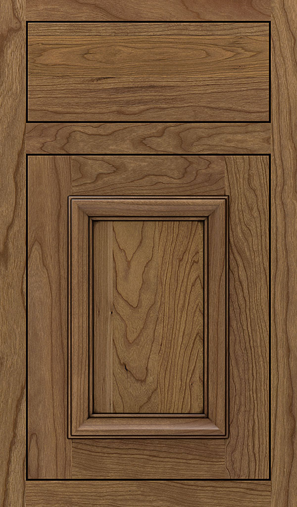 Yardley Cherry Inset Cabinet Door in Coriander Espresso