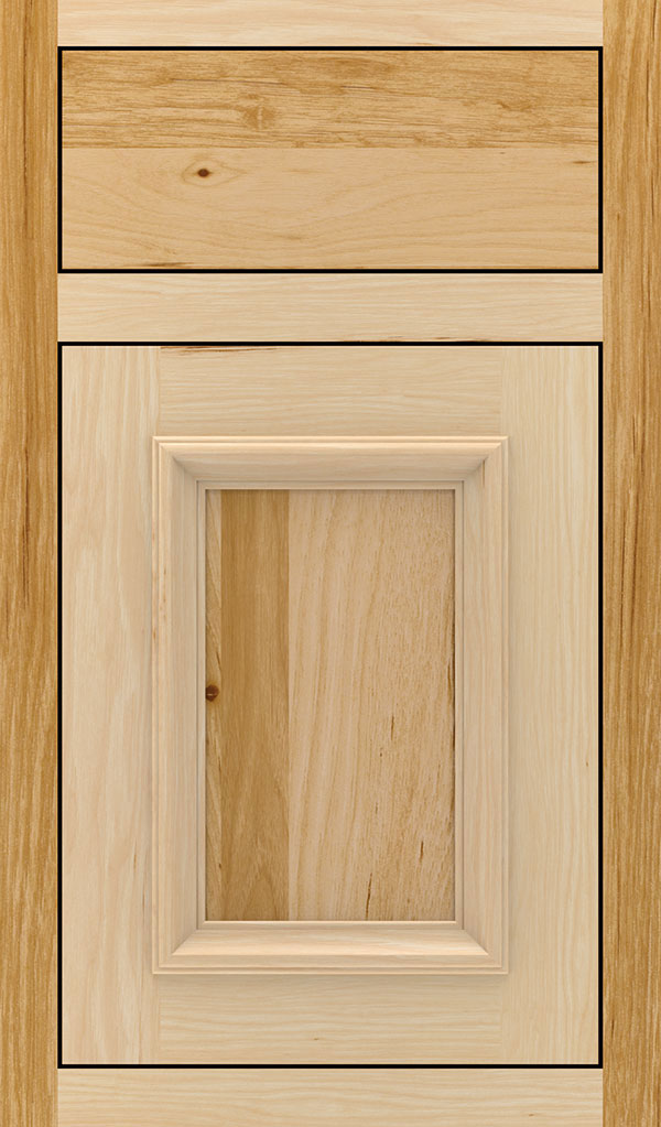 Yardley Hickory Inset Cabinet Door in Natural