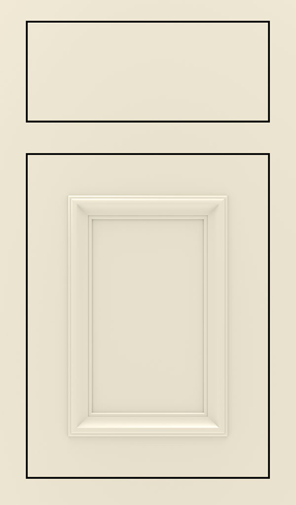Yardley Maple Inset Cabinet Door in Chantille