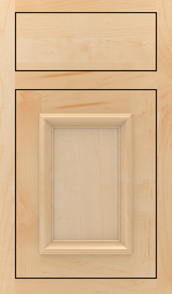 Yardley Maple Inset Cabinet Door in Natural