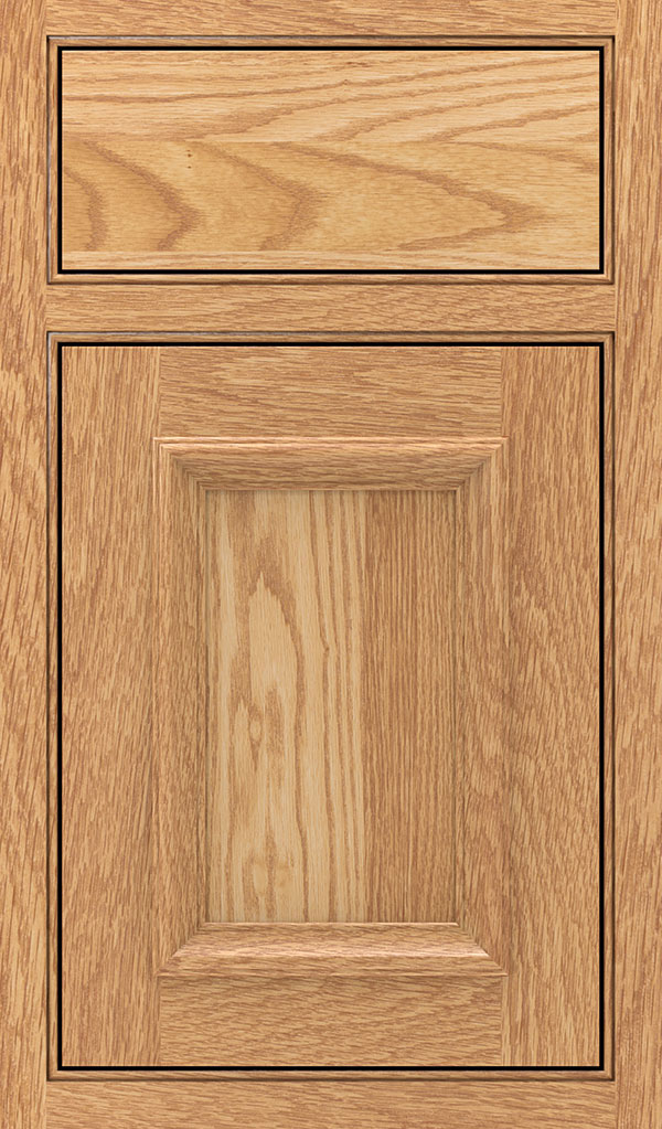 Yardley Oak Beaded Inset Cabinet Door in Natural
