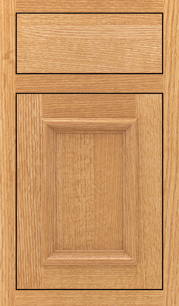 Yardley Quartersawn Oak Inset Cabinet Door in Natural