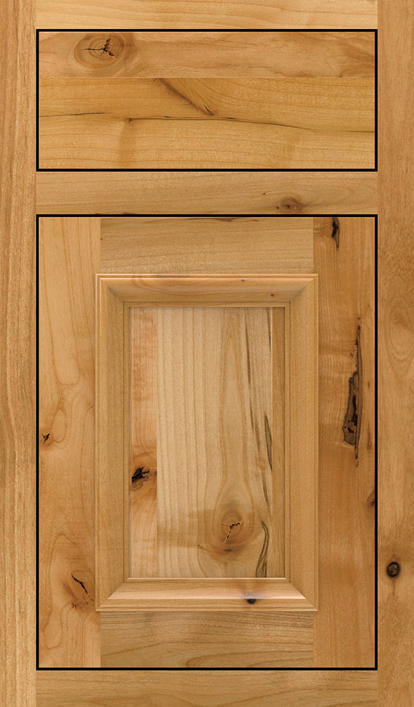 Yardley Rustic Alder Inset Cabinet Door in Natural