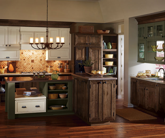 Rustic Kitchen Cabinets By Decora Cabinetry ...