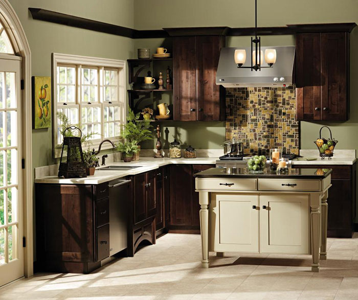 shaker style kitchen cabinets decora cabinetry. Black Bedroom Furniture Sets. Home Design Ideas