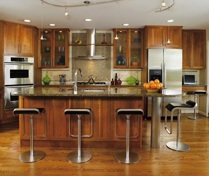 ... Contemporary Shaker Kitchen Cabinets By Decora Cabinetry ...