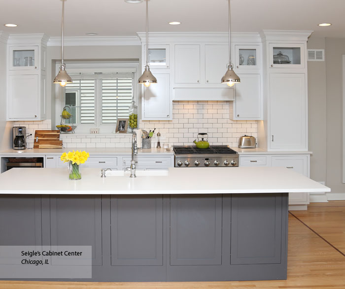 grey kitchen island white inset cabinets gray kitchen island decora 3614
