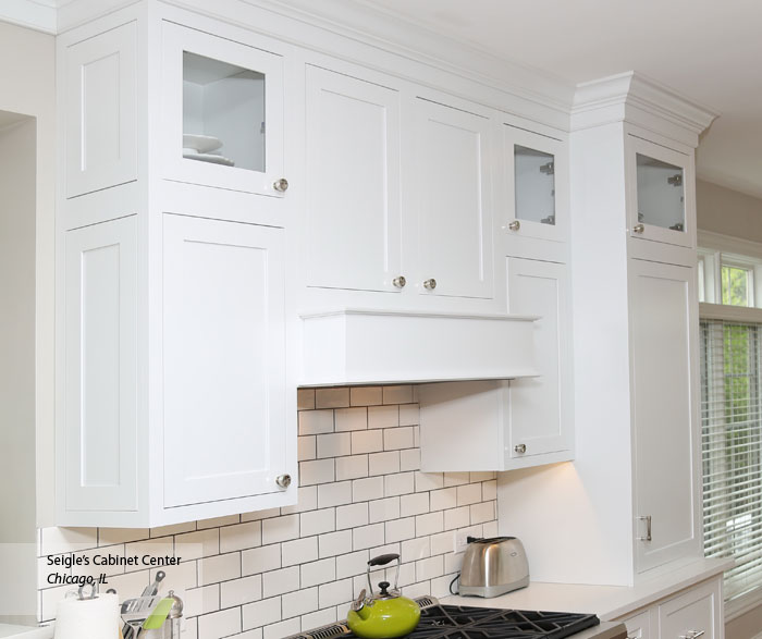 Harmonious Kitchen Paint Colors With Maple Cabinets: White Cabinet Color On Maple