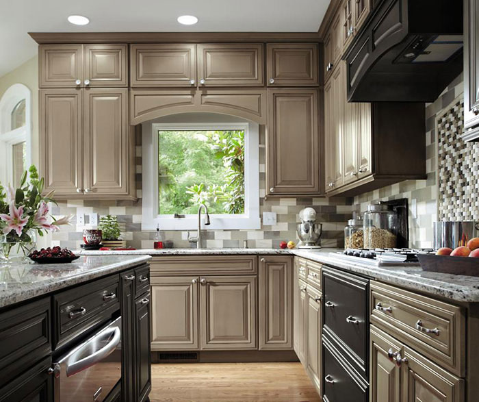 Exceptionnel ... Gray Kitchen Cabinets By Decora Cabinetry ...