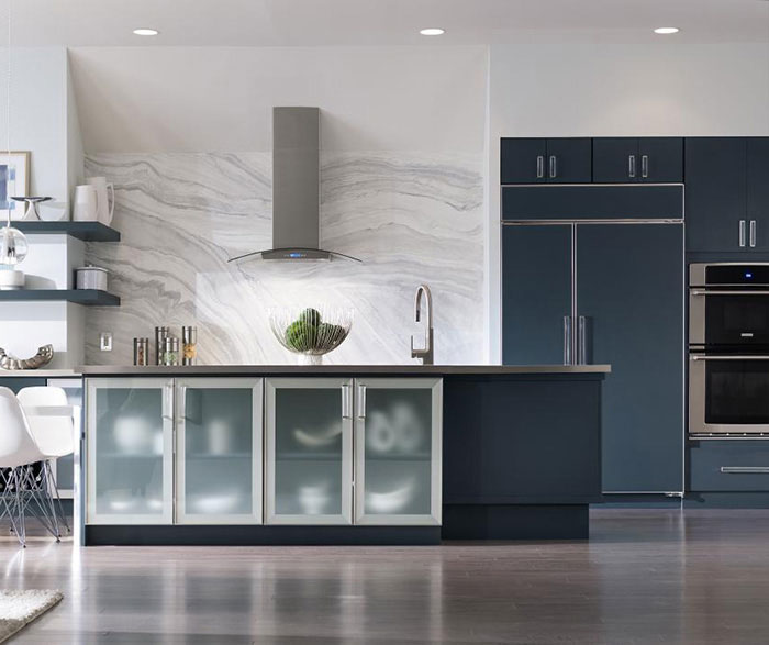 Marquis Slab Cabinet Door Decora Cabinetry