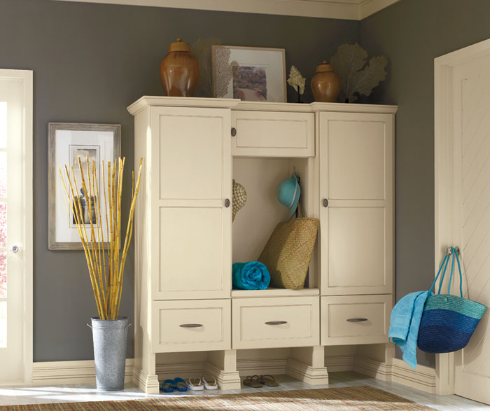 Off white storage cabinet by Decora Cabinetry & Off White Storage Cabinet - Decora Cabinetry