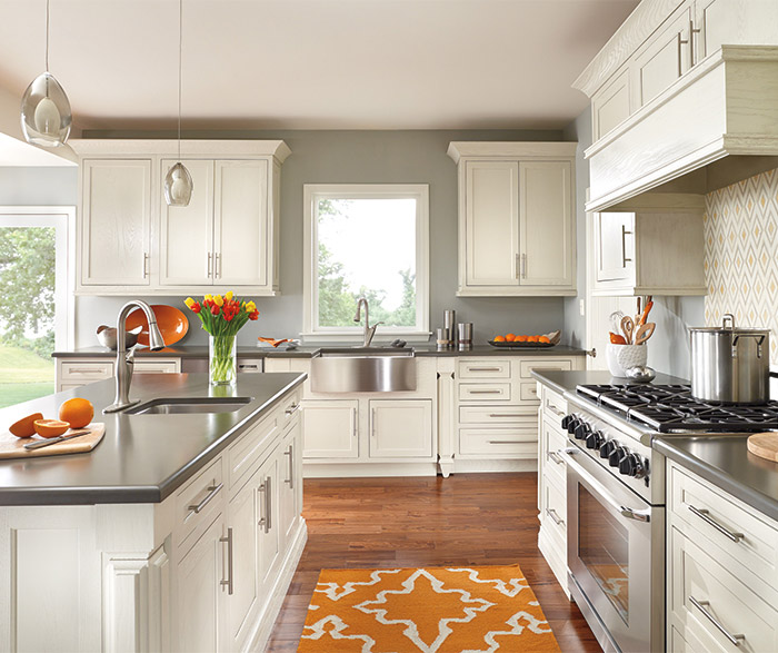 painted oak kitchen cabinets painted oak kitchen cabinets decora cabinetry 24386