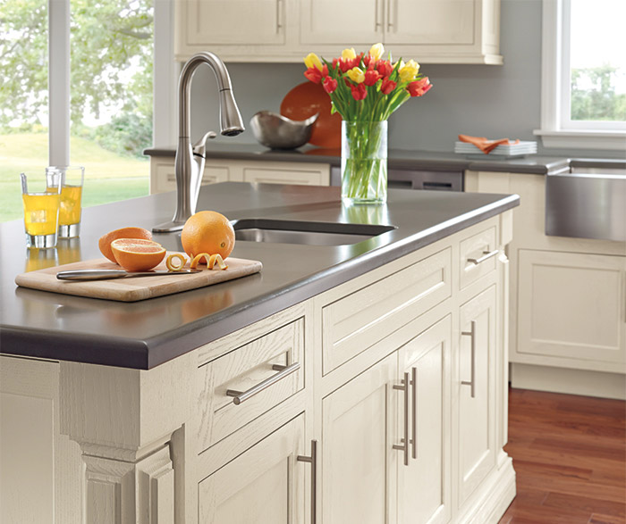 Painted Oak Kitchen Cabinets Decora Cabinetry