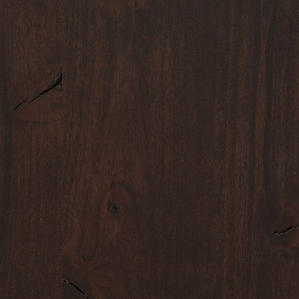 Malbec Cabinet Stain On Rustic Alder Decora