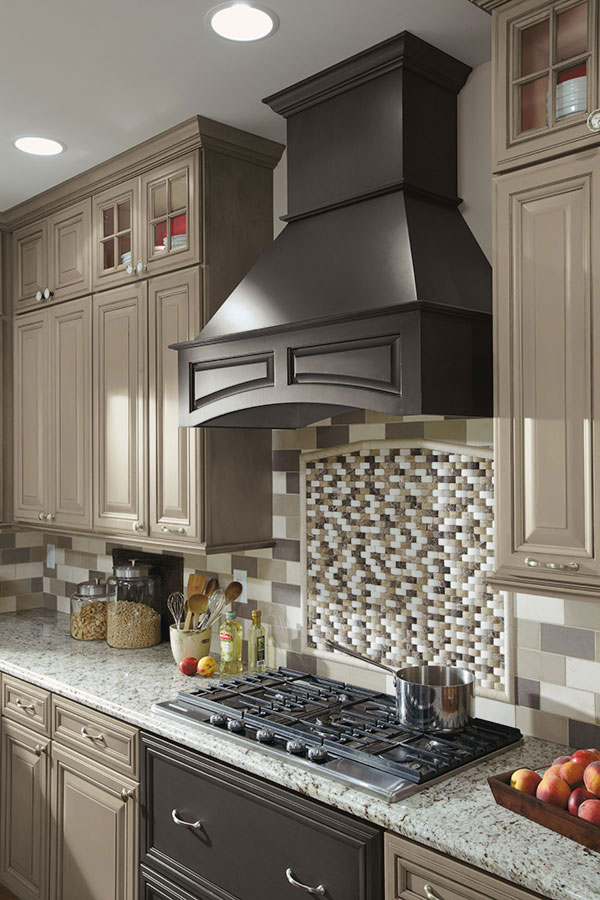 Wood Range Hoods Cabinets ~ Arched wood hood decora cabinetry