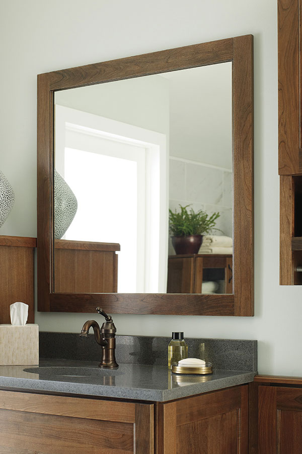 Cherry Vanity Cabinet Decora Cabinetry