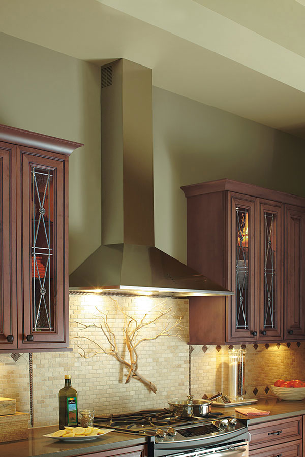 Stainless Steel Range Hood Tapered Decora