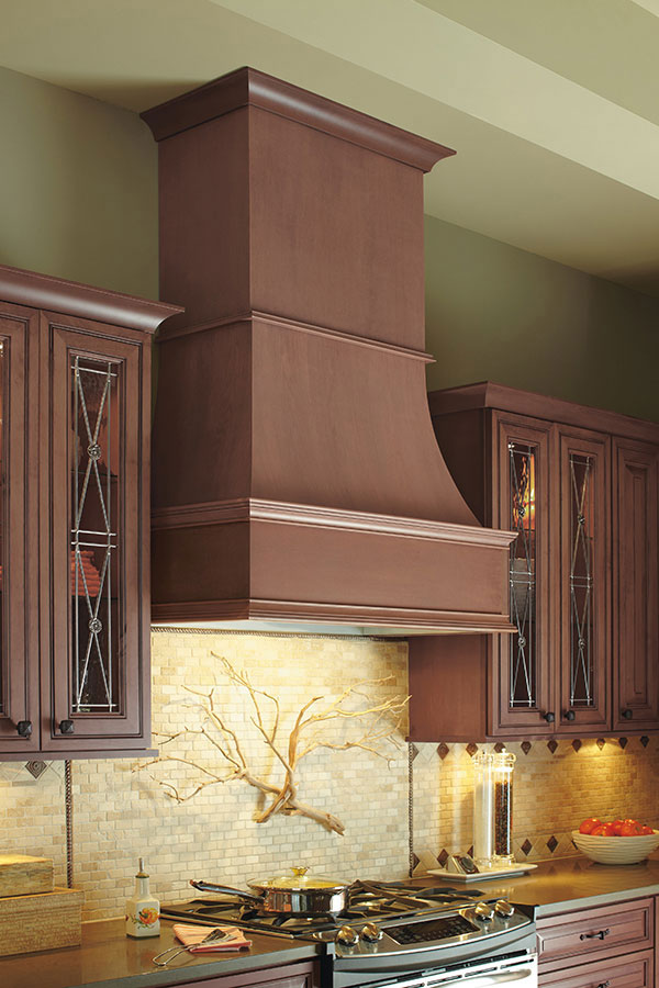 Wood Hood Traditional Decora Cabinetry