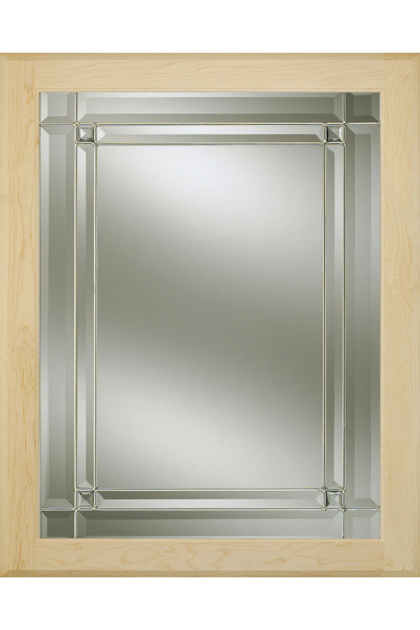 Luxembourg Glass Cabinet Insert Decora Cabinetry