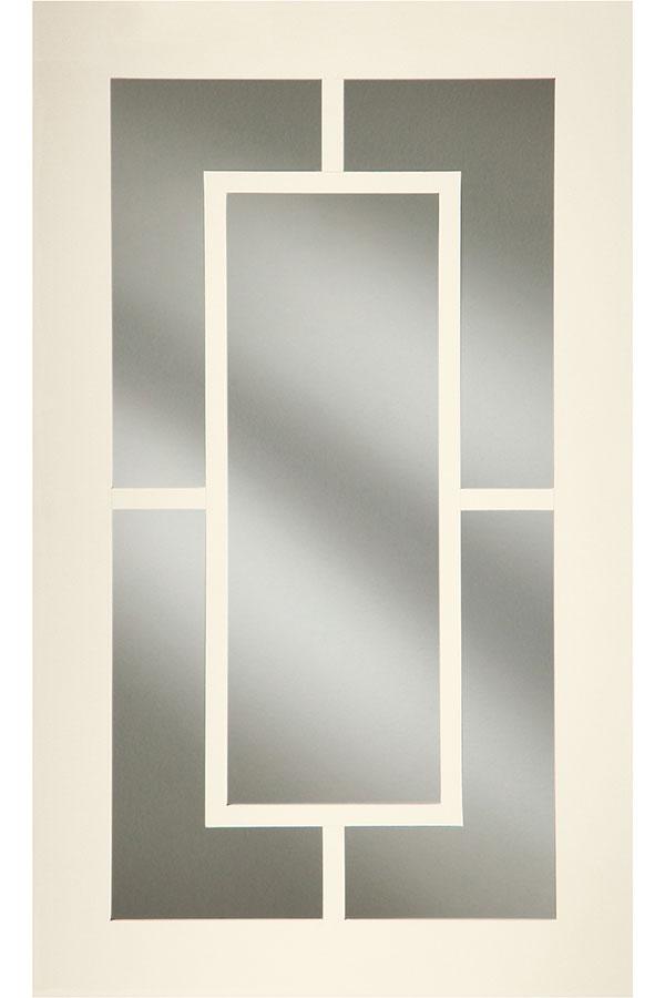Gallery Mullion Cabinet Door; DecMullionShakerCArED & Estate Mullion Cabinet Door - Decora Cabinetry