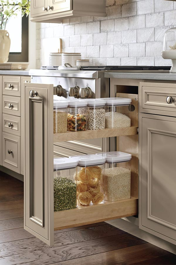 Base Container Organizer Pantry Pullout Cabinet