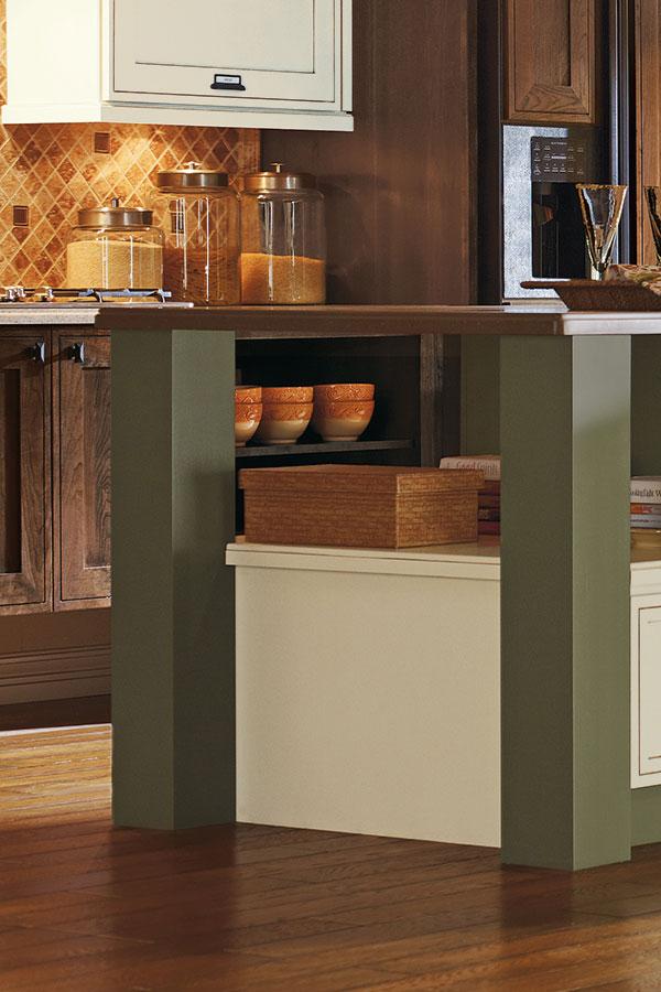 Bar Cabinet Leg